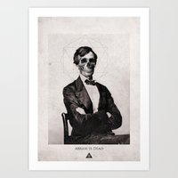Abram is Dead Art Print