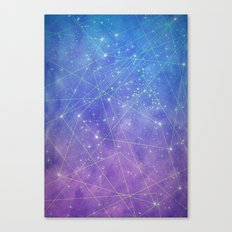 Map of the Stars Canvas Print
