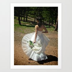 Wedding Flare | Bride Art Print
