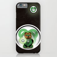 Super Bears - the Green One iPhone 6 Slim Case