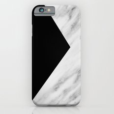 Black Marble Collage iPhone 6 Slim Case