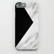 Black Marble Collage Slim Case iPhone 6s
