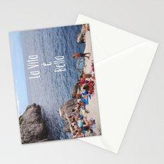 La vita e bella Stationery Cards