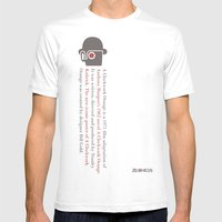 Zelonicus Clockwork Oran… Mens Fitted Tee White SMALL