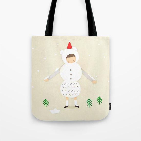snow snow Tote Bag