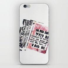 RETRO 5 iPhone & iPod Skin