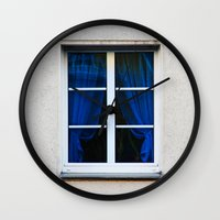 fenster 1 Wall Clock