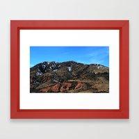 The Rockies Framed Art Print