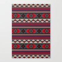 Navajo Blanket Pattern- … Canvas Print