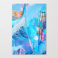 Sacred Symbols - Bend of Ivy Canvas Print