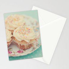 Heavenly cupcakes Stationery Cards