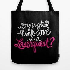 Laserquest Tote Bag