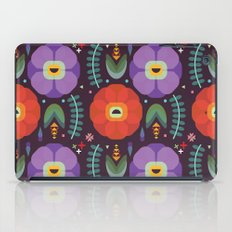 Flowerfully Folk iPad Case