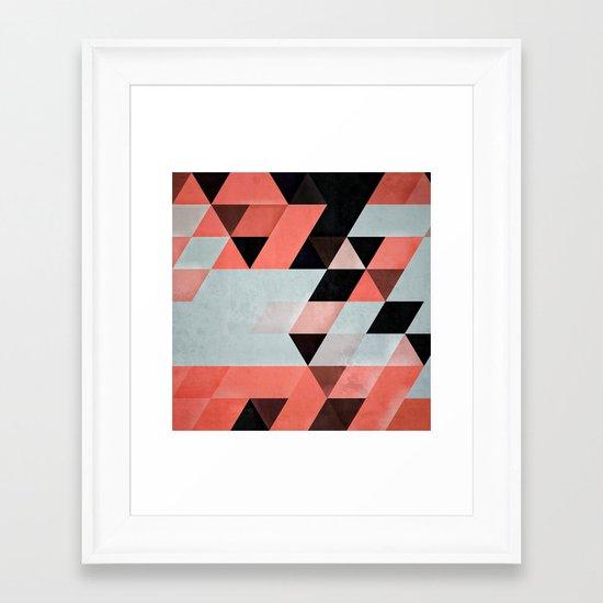 cyryl mntyn Framed Art Print