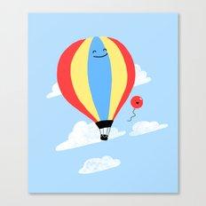 Balloon Buddies Canvas Print