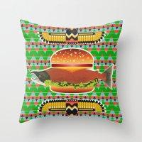 Alaska Burger Throw Pillow