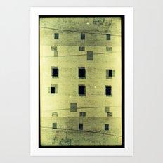 Landscapes c4 (35mm Double Exposure) Art Print