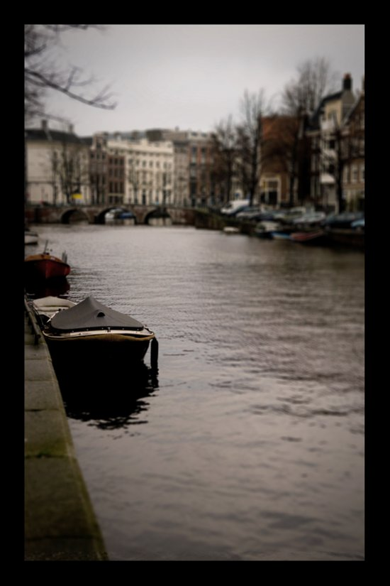 + Prinsengracht, Amsterdam Art Print