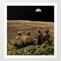 they watched Art Print