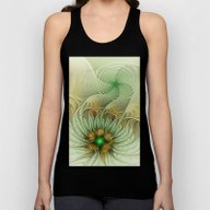 Behind The Hills, Abstra… Unisex Tank Top