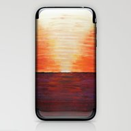 iPhone & iPod Skin featuring First Sunset by Aries Art