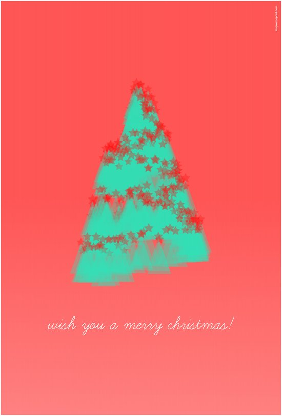 wish you a merry christmas! Art Print
