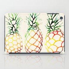 Burlap Pineapples iPad Case