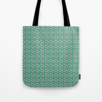 Aqua Mountains - Lumberjack Attack Tote Bag