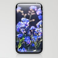 Forget-me-not-flower iPhone & iPod Skin