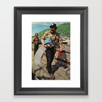 The Life And Death Of Th… Framed Art Print