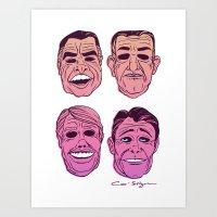 POINT BREAK  - The Ex Pr… Art Print