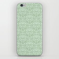 Cloud Factory Damask - River Lily iPhone & iPod Skin