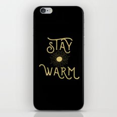 Stay Warm iPhone & iPod Skin