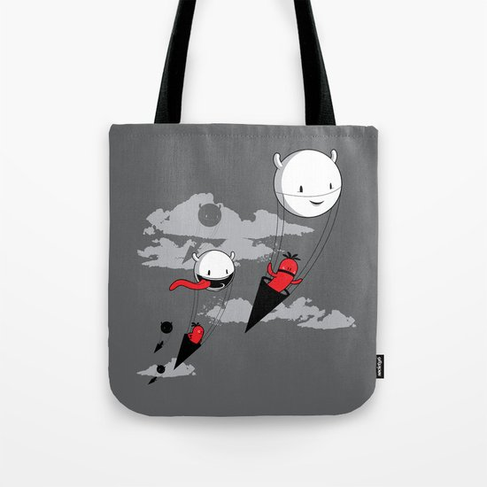 Acute Invasion Tote Bag