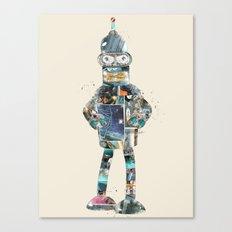 Poparama  Canvas Print