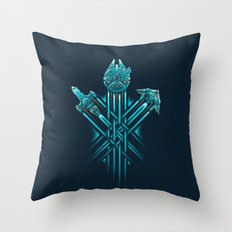 Rebel Paths Throw Pillow