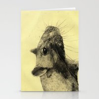 Rat 3 Stationery Cards