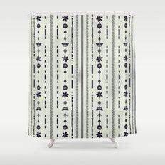 DG Floral Pattern 1 Shower Curtain