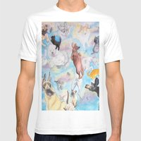 It's Raining! . . . . Mens Fitted Tee White SMALL