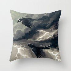 Stormbringers Throw Pillow