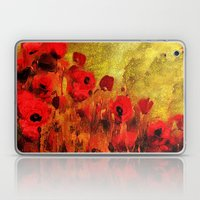 FLOWERS - Poppy reverie Laptop & iPad Skin