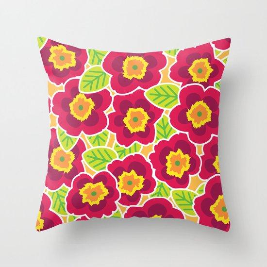 Primrose Collection 3 Throw Pillow