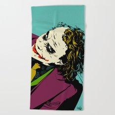 Joker So Serious Beach Towel