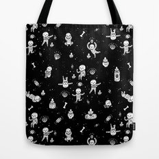 Skeletoile Tote Bag