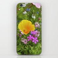 wildflowers meadow II iPhone & iPod Skin