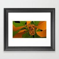 Monkey - Tepetl Framed Art Print