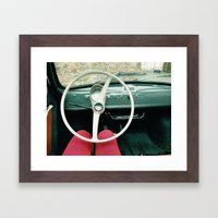 From Behind The Wheel - II Framed Art Print