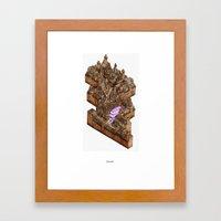 Diagonally Framed Art Print