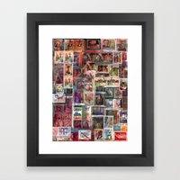Poste Italiane Framed Art Print