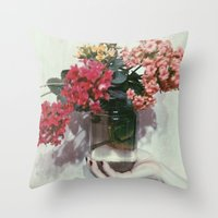 Florajar Throw Pillow
